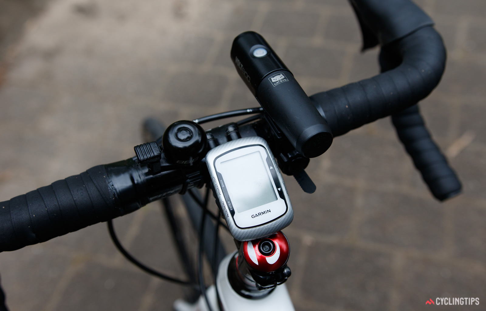 handlebars covered in accessories