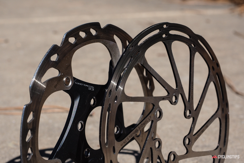 Shimano and SRAM are the two dominant suppliers of road disc brakes at the moment. Both currently use disc rotors with edges that are sharper than they need to be, which is something the UCI could have addressed before starting the competition trials.