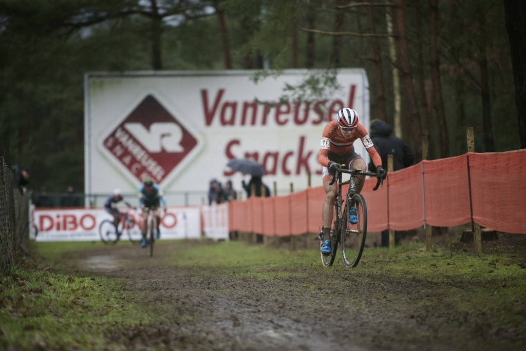 Thalita Dejong (NLD/Rabo-Liv) leading the race and on her way becoming world champion Elite Women's race UCI 2016 cyclocross World Championships