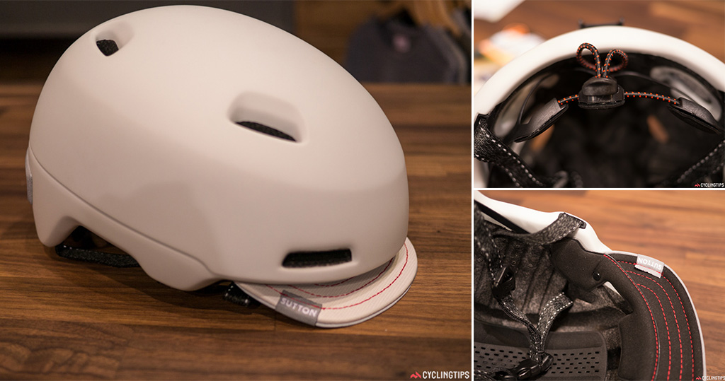 It's not a racing road lid but the Giro Sutton helmet has some neat features.