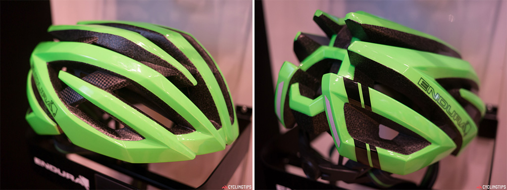 Endura are best known for their clothing but they also make some nice helmets. Again, bright is the new black.