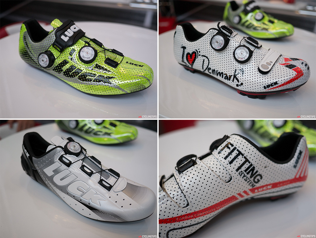 Luck are making some very interesting products away from the powermeter sole. The innersoles are two layers and are custom moddable. You'll have to find a Luck dealer to fit them for you though.