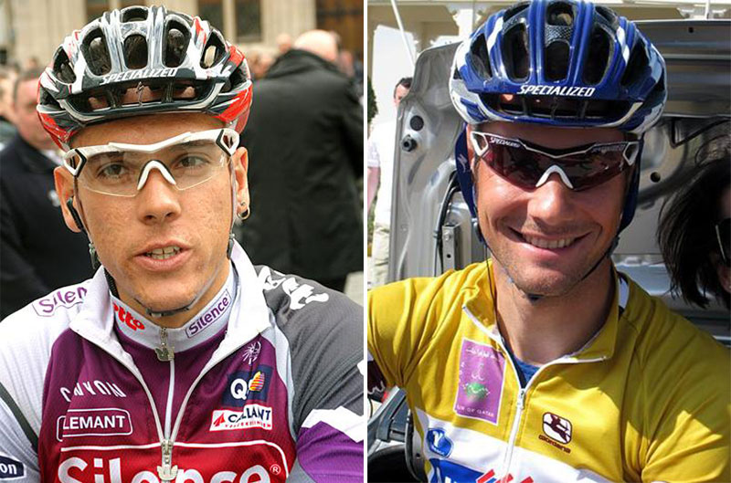 Specialized made a brief foray into the sunglasses market, releasing the Specialized Miura as worn by Philippe Gilbert and Tom Boonen here.