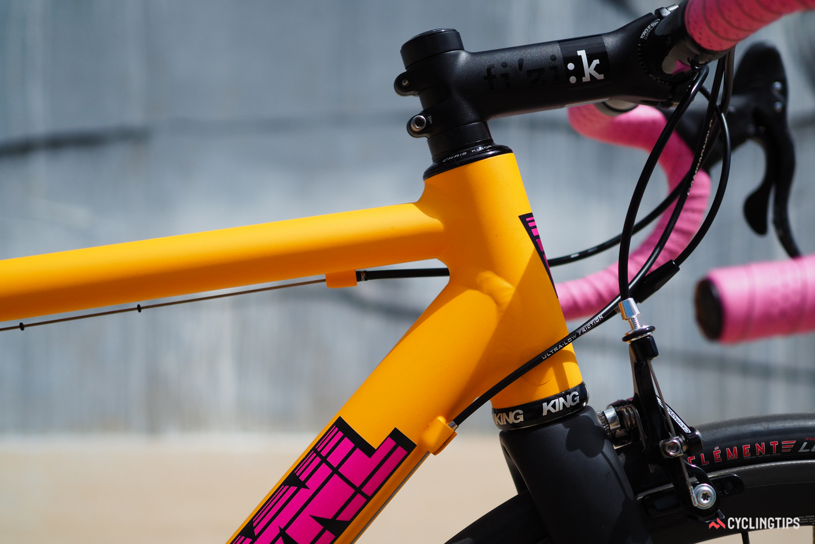 As the company's name suggests, VYNL doesn't concern itself with frills, preferring instead to offer purpose-built aluminum racing frames that are made in the United States.