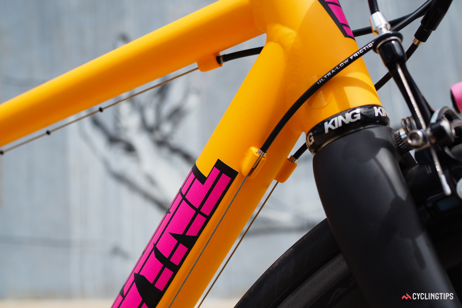 Cable routing is unabashedly external with split stops for ease of service. Buyers will want to apply clear decals to protect the paint from housing rub.