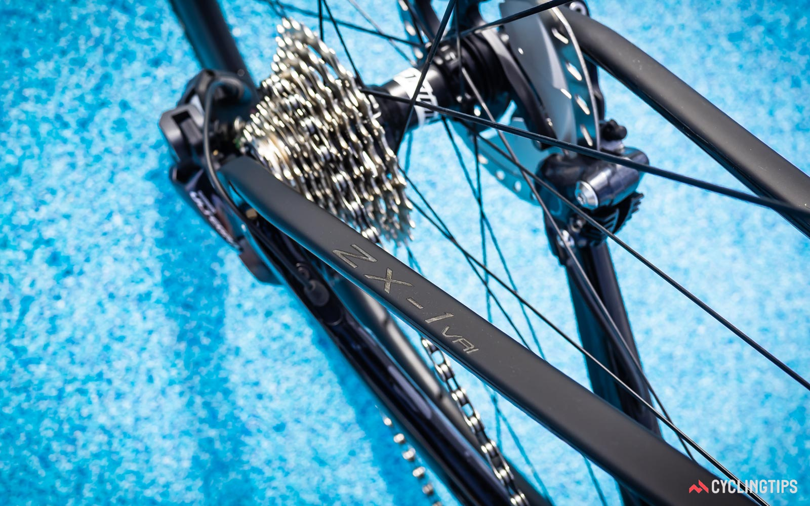 Vitus ZX-1 CR1 seat stay and cassette