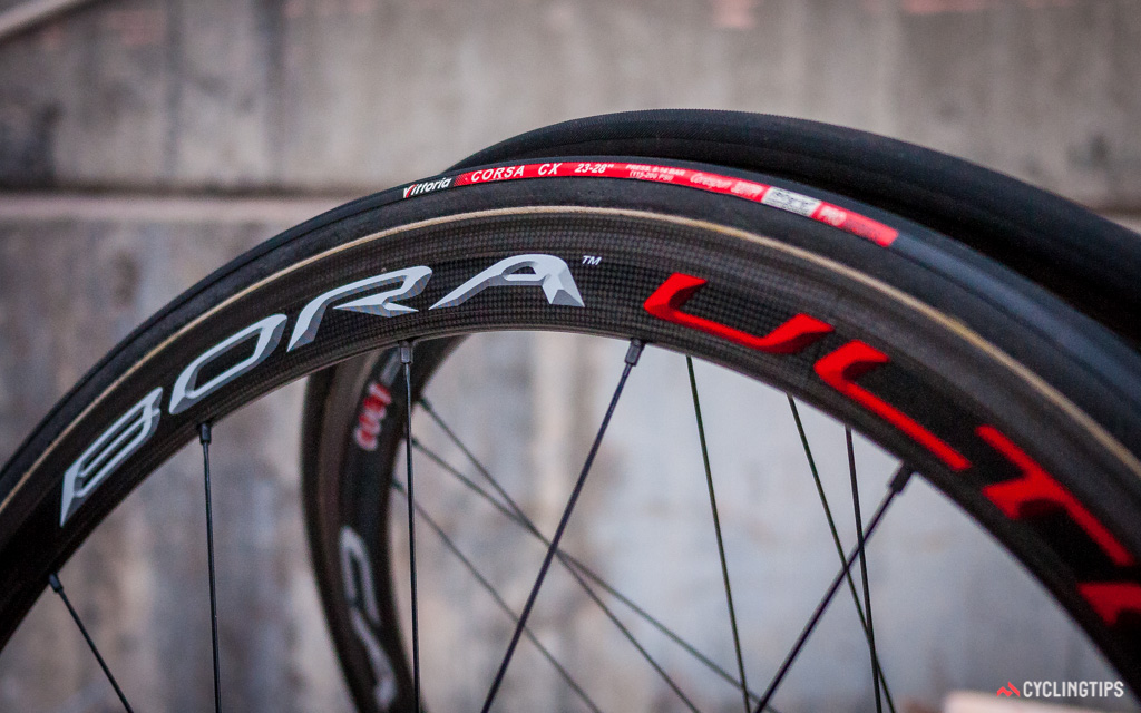 Racing tubulars are generally more susceptible to punctures than conventional clinchers in the wet... or dry.