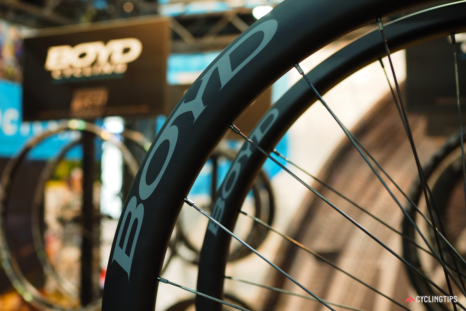 Smaller wheel companies, such as Boyd Cycling, have been quicker to adapt to the trend of wider rim profiles.