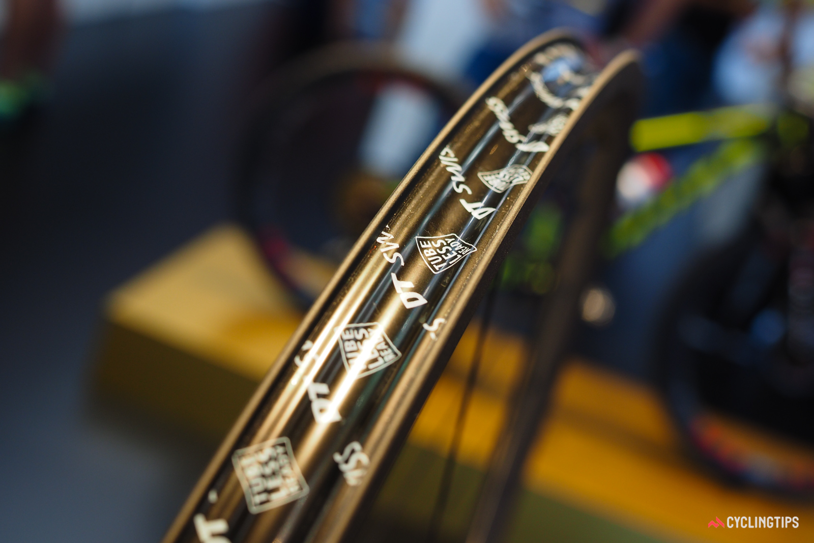Tubeless compatibility is seemingly coming hand-in-hand with wider rim profiles.