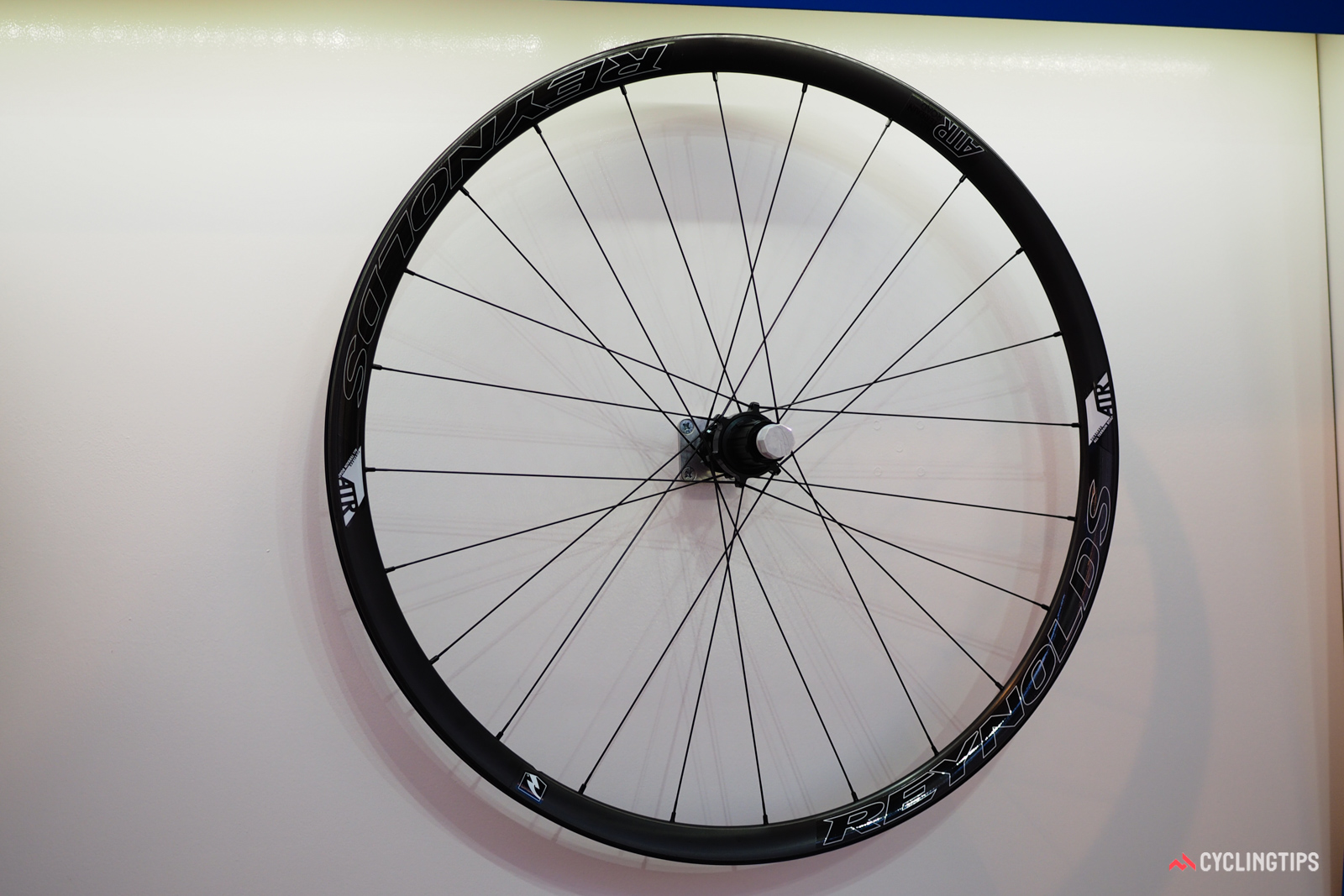 Reynolds' move toward wider rims started with the ATR, a model aimed at the gravel scene with its tubeless-compatible, 21mm-wide carbon rim.