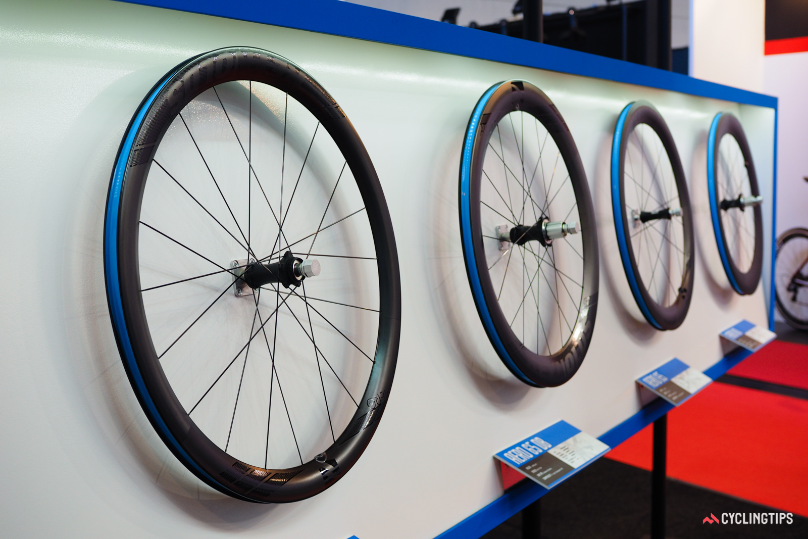 Reynolds' revamped aero wheels are all built on wider formats with 19mm of space between the bead hooks.