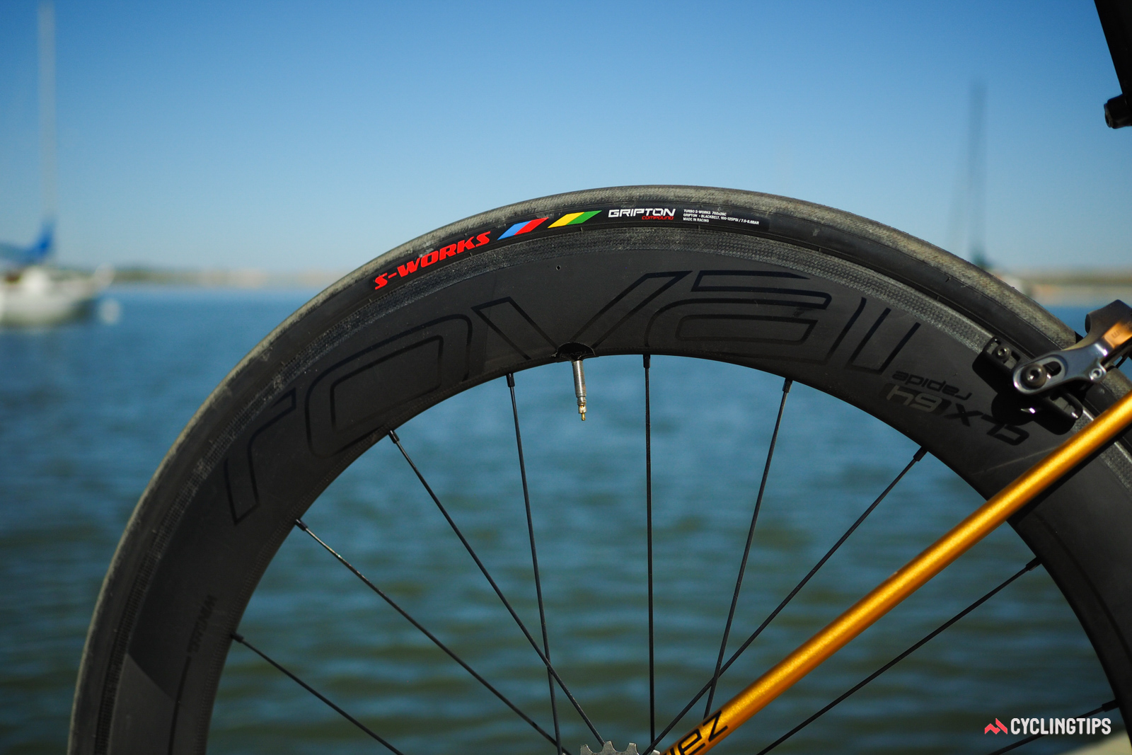 Once considered merely a house wheel brand for Specialized, Roval has now rightfully earned a spot among other premium options for road wheels. The aero-profile CLX 64 carbon clinchers use a 20.7mm internal width and 29.9mm external width to match with higher-volume rubber.