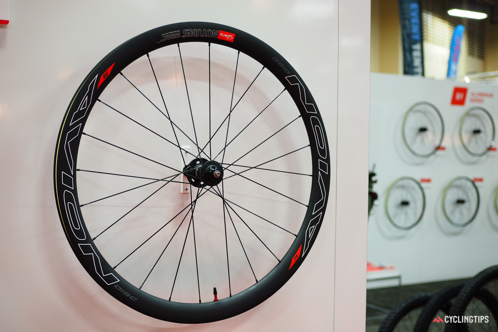 Stan's NoTubes went wide straight out of the gate with its first carbon clincher, the Avion Pro.