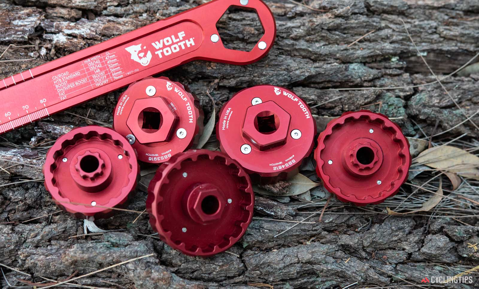 Wolf Tooth Components Pack Tools - bottom bracket tools
