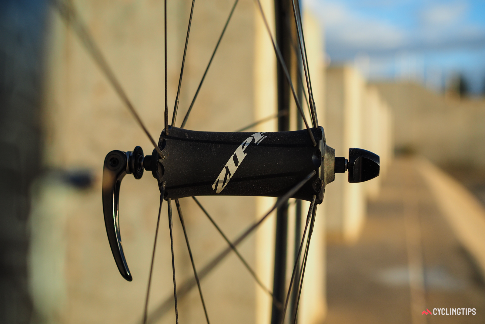 The Cognition front hub uses a notably sleeker shape.