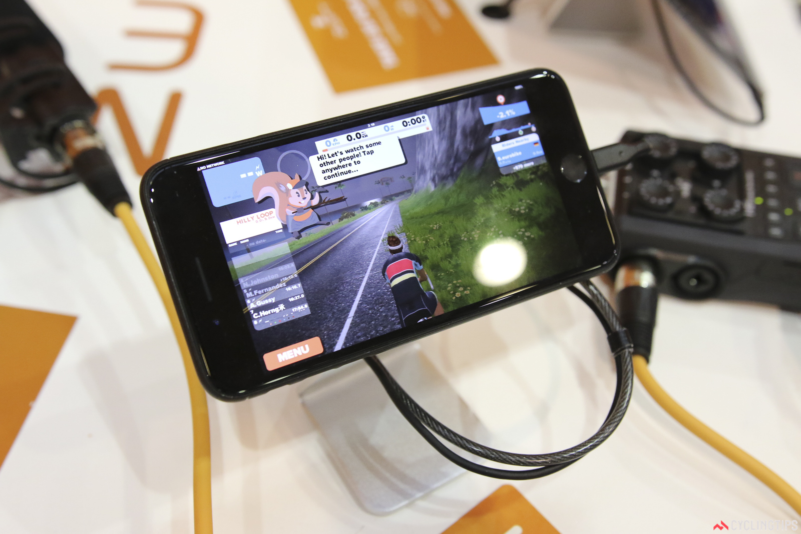 Zwift on Android