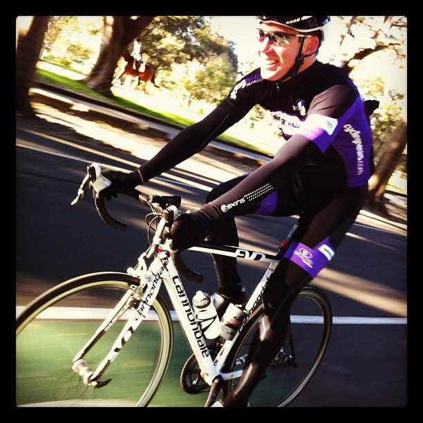 Thoughts on the new cyclingnews kit? Keep your thoughts about the model to yourself ;-) (Instagram)