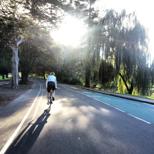 Centennial Park Friday roll with @johnsunde #wymtm (Instagram)