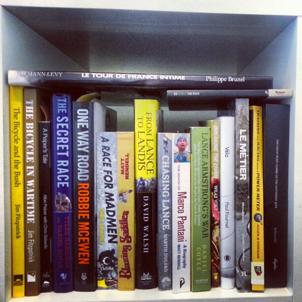 A cool competition buy @veloimages. #showUsYourBookshelf Here's a small section of mine (Instagram)