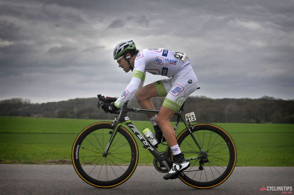 It was the Amstel Gold Race that first piqued Dumoulin's interest in pro cycling. He went on to ride the race in his first season as a pro (2012, pictured here), finishing 46th. His best result to date in his home race is 20th, in 2014.