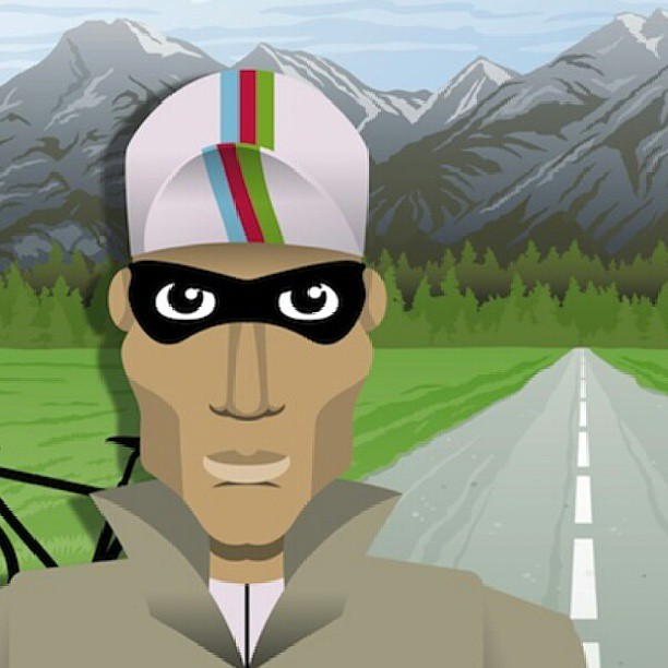 A new edition of The Secret Pro on www.cyclingtips.com.au. (graphic by @siplesime)