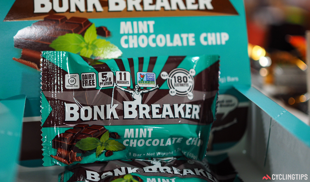 Bonk Breaker has added a new mint chocolate chip flavor to the range. And yes, it was as delicious as you'd imagine it would be.