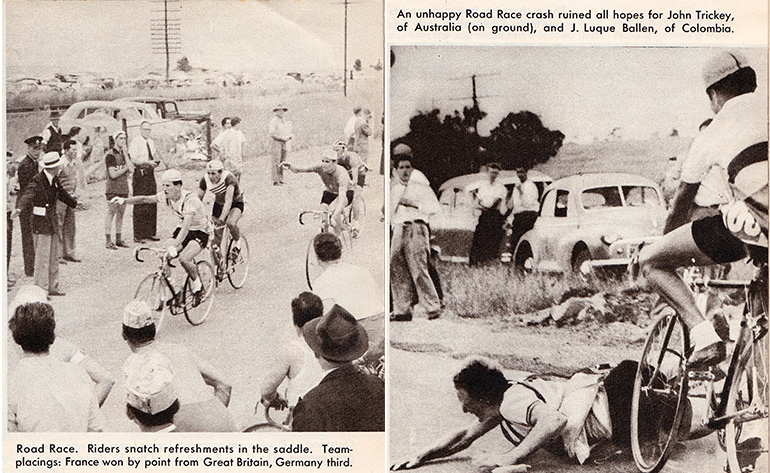 Images from: Melbourne Olympics, Colourgravure Publication, 1956.