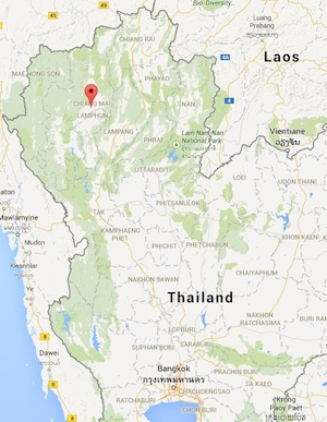 Chiang Mai is the largest city in Northern Thailand.
