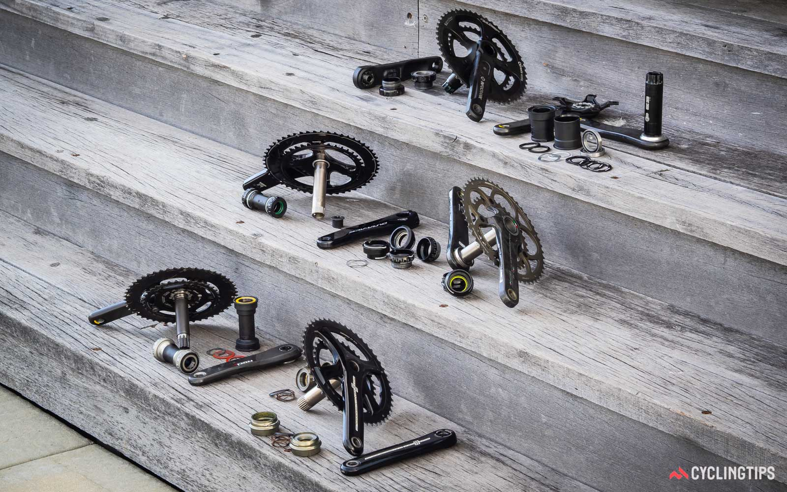there is a variety of crank and bottom bracket bearings on the market