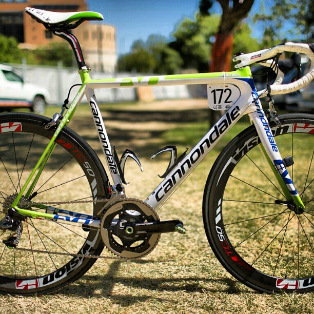 Team Cannondale's Evo (Instagram)