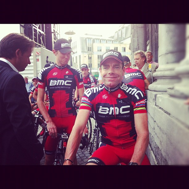Cadel on the other hand, cool as a cucumber (Instagram)