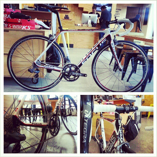 Another Ultegra Di2 bike for ~4k. Focus Izalco Pro - awesome bike at @bikegallerymelb (Instagram)