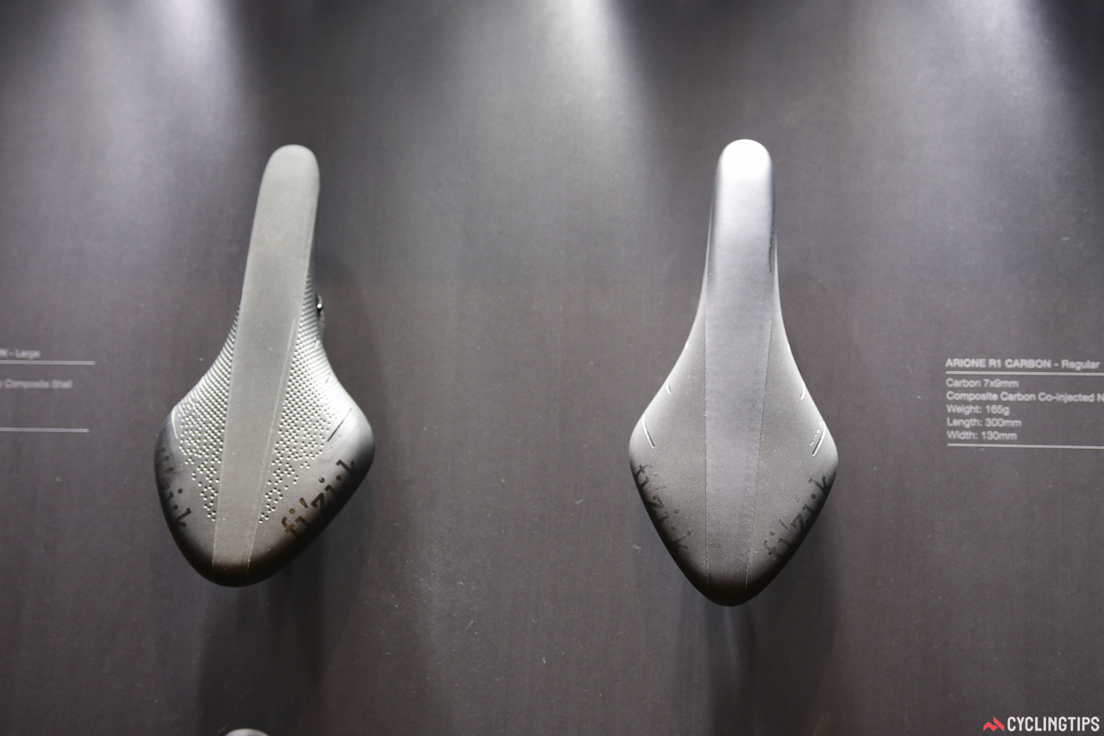 While they haven't ditched flexibility as a measure for saddle choice, fi'zi:k has launched a range of width options in its popular models. What saddle width is best? The Italians are suggesting your power output is the measure. While we applaud the additional choice, we're not convinced by the theory that wide saddles are only for those with lower power. Photo: David Rome.