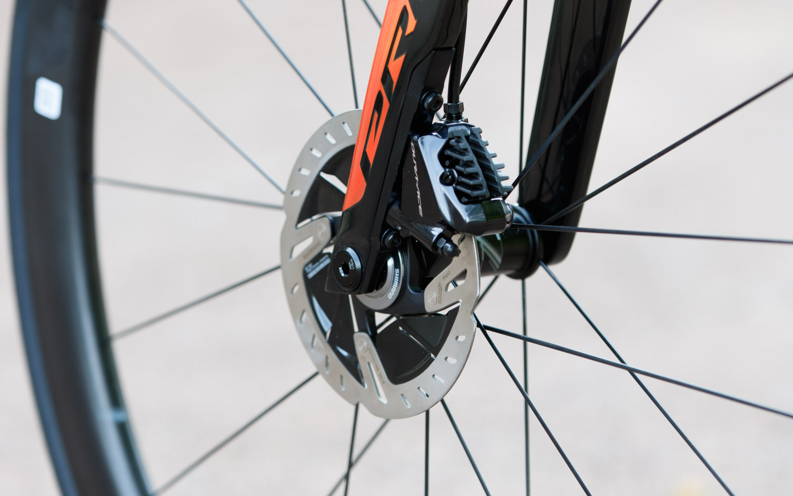 giant propel and shimano dura-ace disc brake