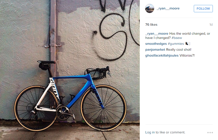 Gum-walled tyres? Add a point. Saddlebag still attached? Minus a point. Dirty, tag-covered wall? Minus another point.
