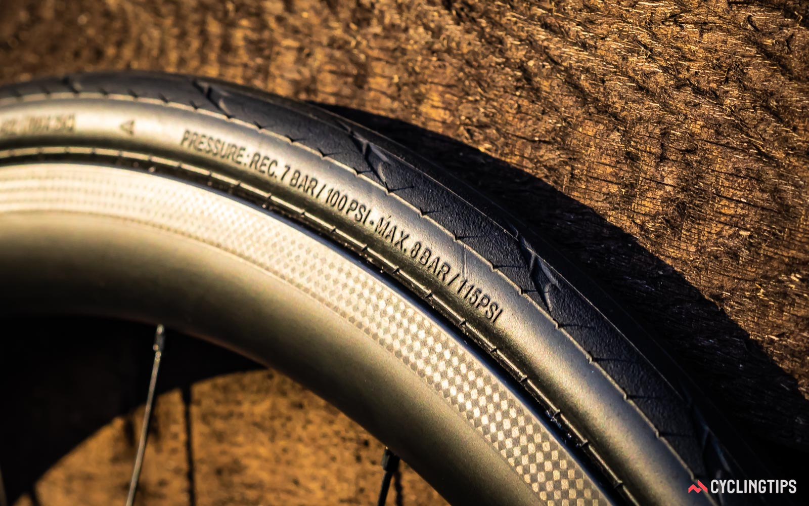 The choice of tyre pressure can have a big impact on the ride quality of a bike