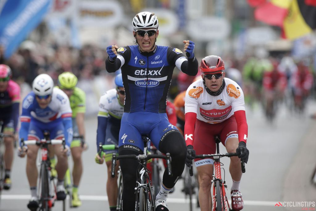 Marcel Kittel is back to his winning ways in 2016 and will the sprinter to beat in the Giro's flat finishes.