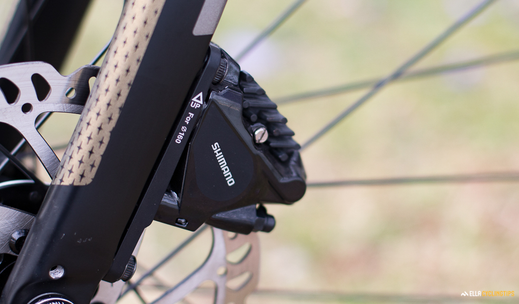 Flat mount brakes new for 2017
