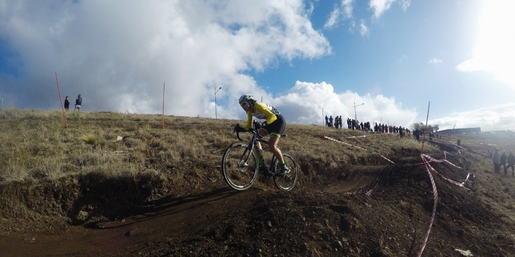 Lisa Jacobs is the only female national cyclocross champion Australia has ever had.