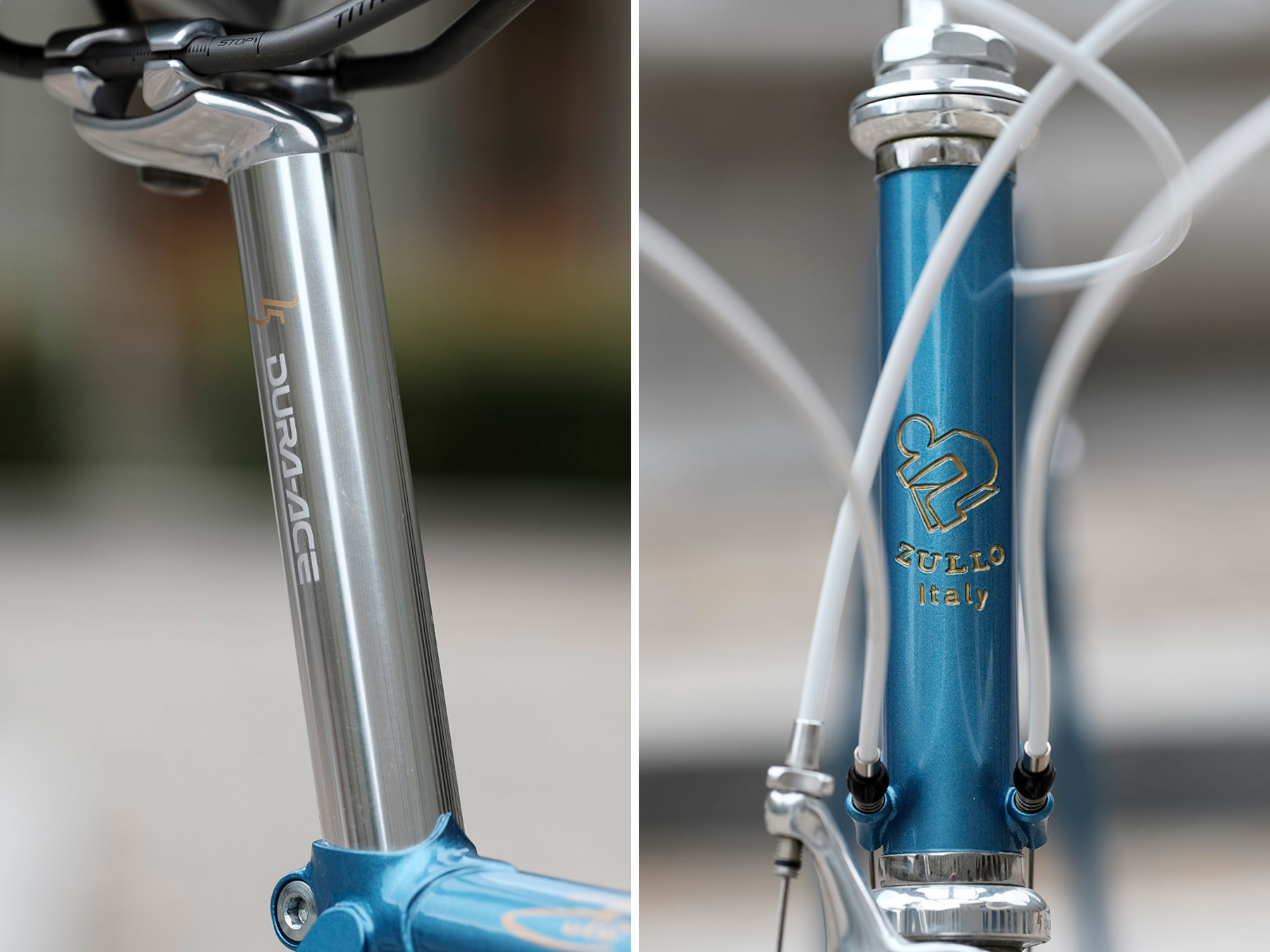 Dura-Ace 25th anniversary seatpost and headset