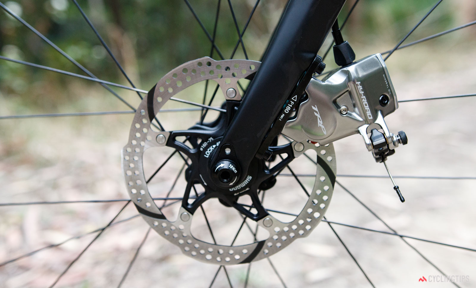 Durable Mechanical Front Disc Brake Calliper For Mountain Road Bicycle Bike