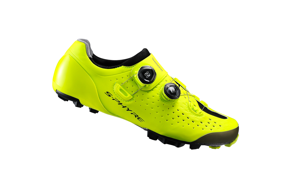 Shimano S-Phyre XC900 in yellow