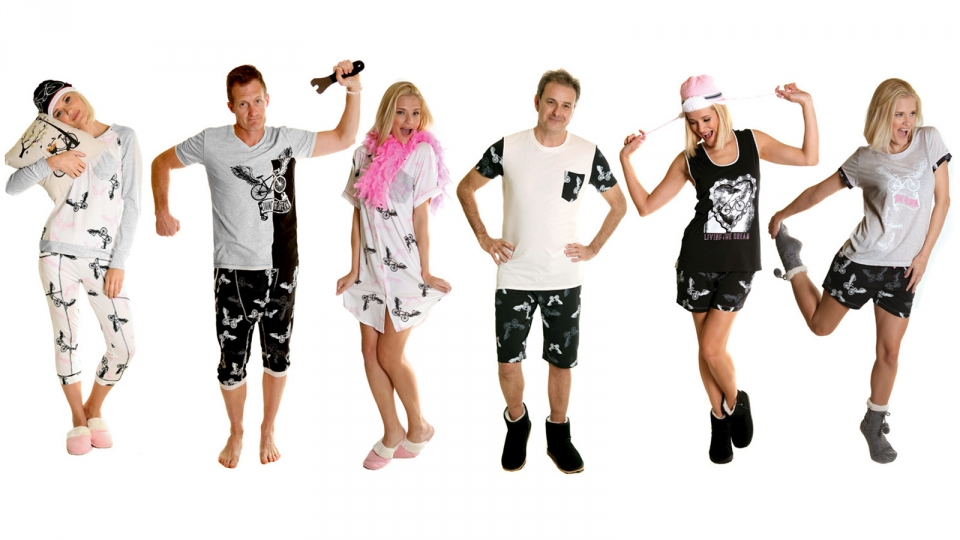 PJ's from Apres Velo Keep pedalling in your sleep and dream about roads less ridden with these super cute PJs by Apres Velo. http://www.apresvelo.com/Products/women/womens-sleepwear#9123263