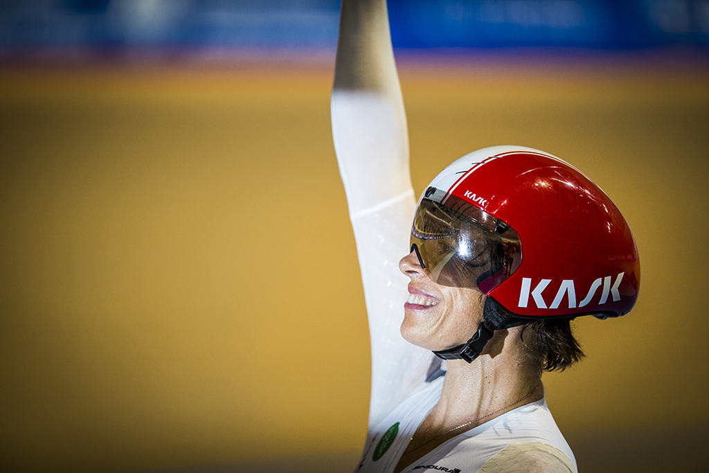 Bridie O'Donnell hour record success