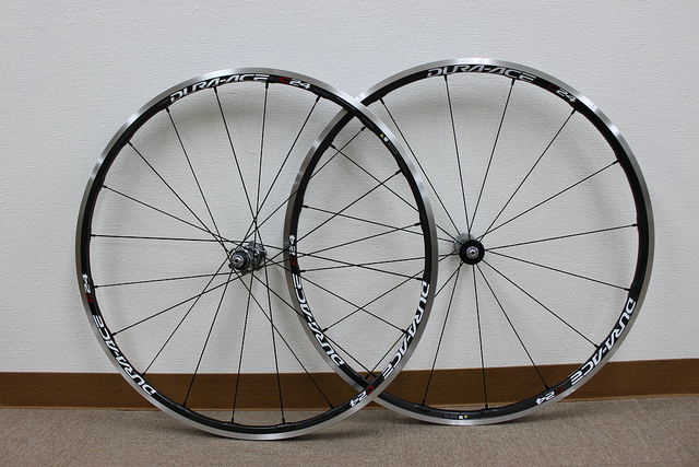 Wheels New wheels can make a huge difference on your ride. First wheel upgrade? For light, durable wheels with good quality hubs we recommend Shimano's C24 or Mavic Ksyriums.